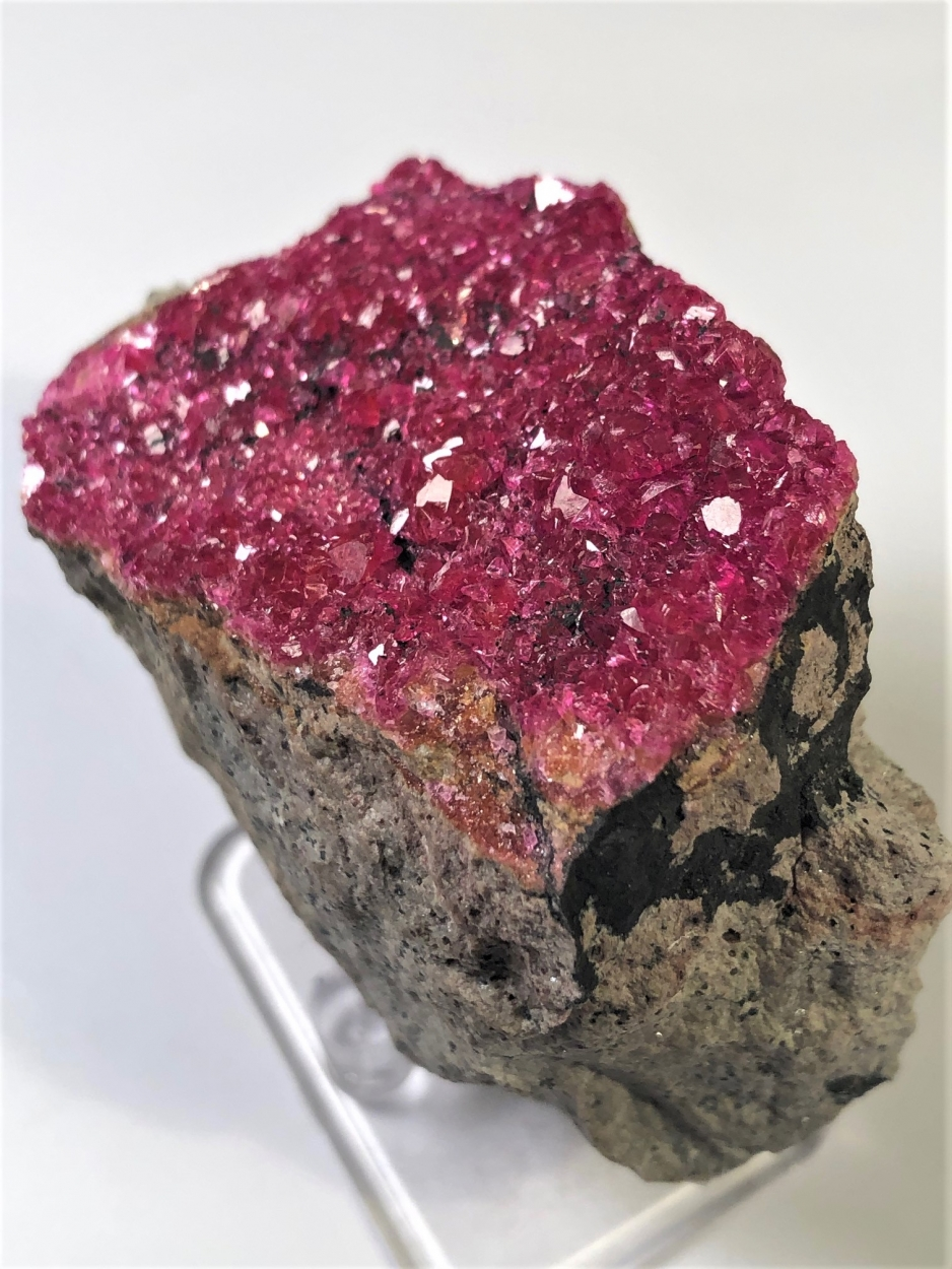 Cobaltoan Calcite With Heterogenite