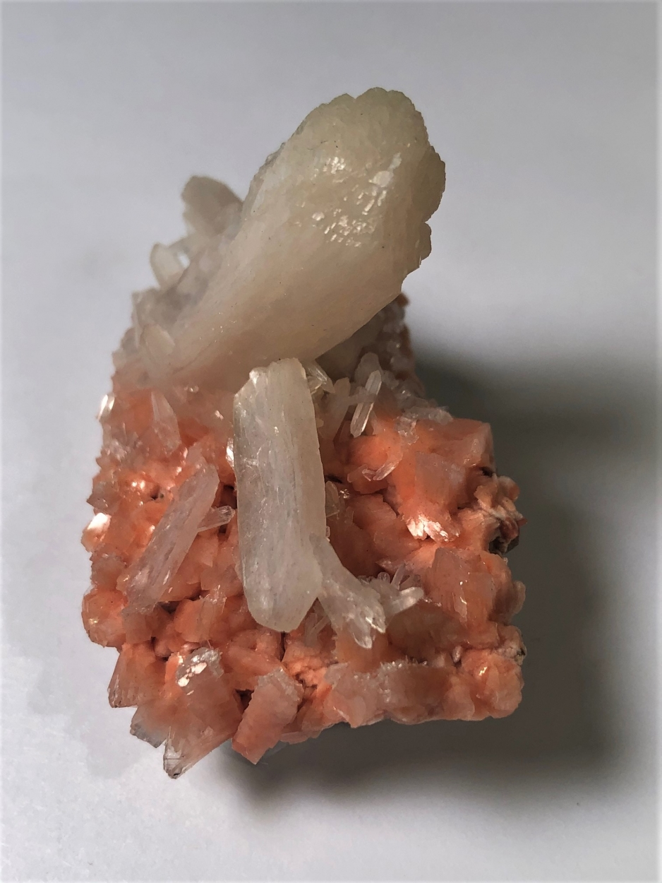 Stilbite On Heulandite