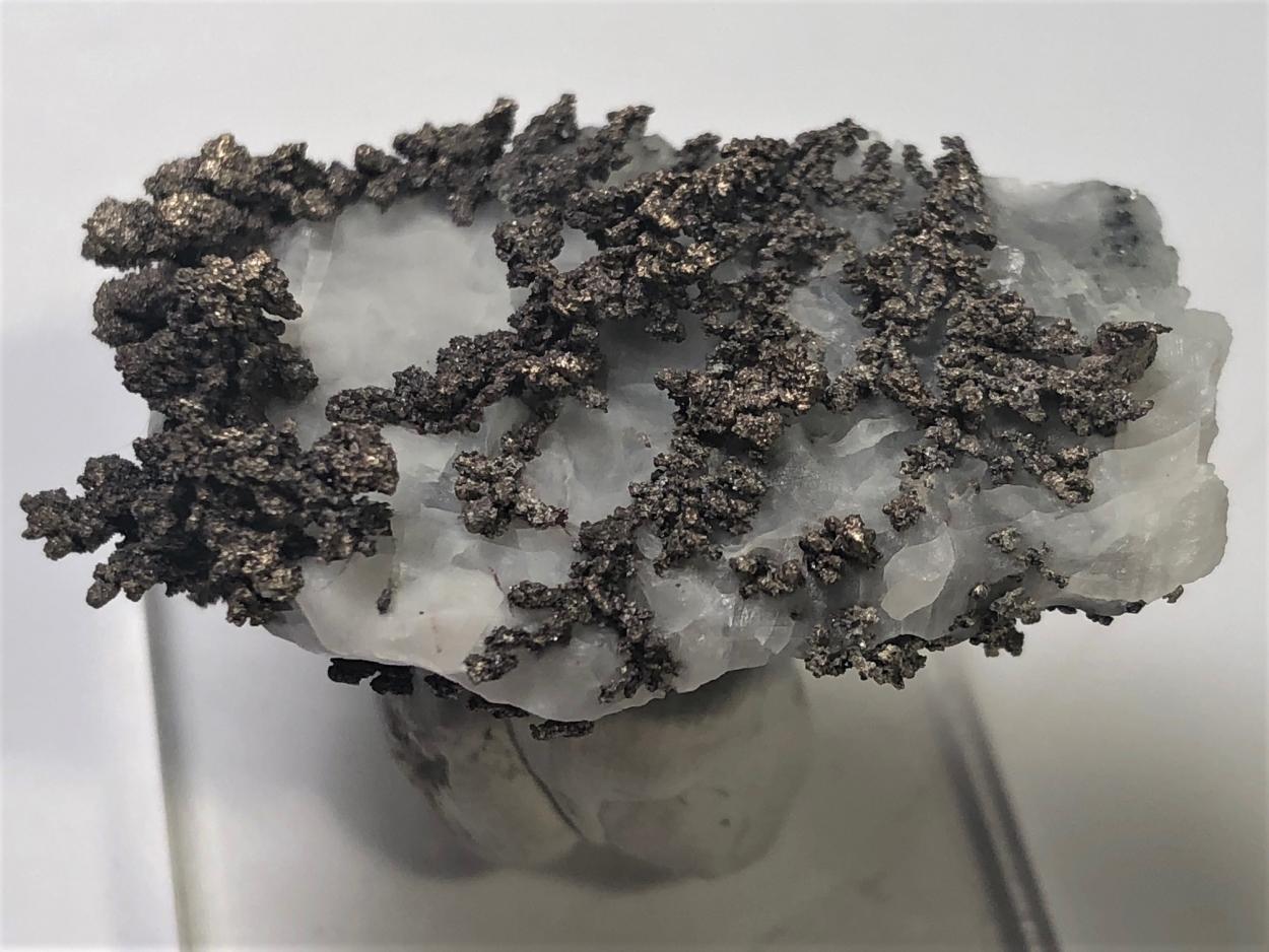 Silver & Allargentum On Calcite