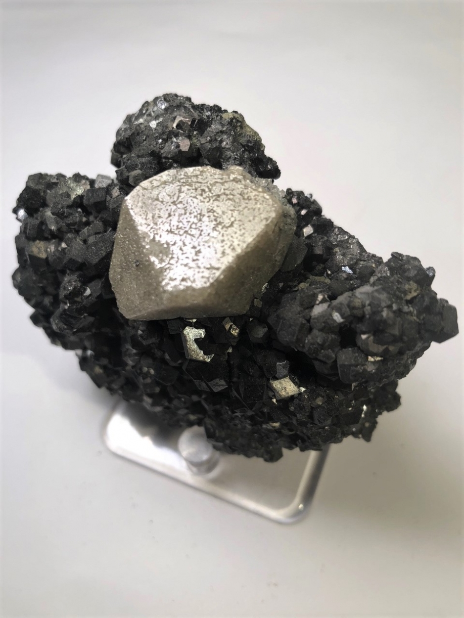Scheelite On Magnetite