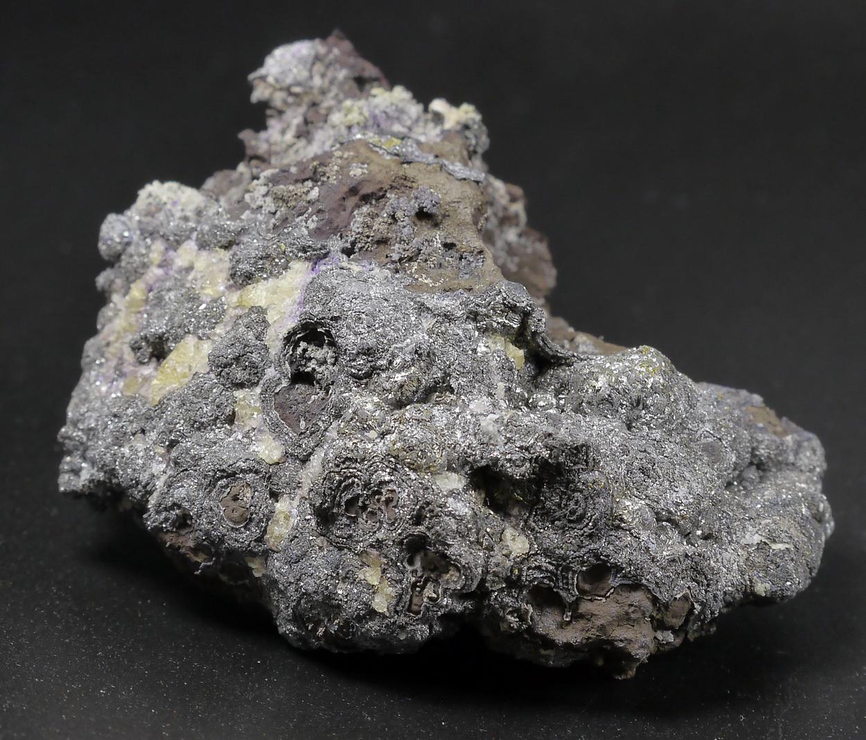 Skutterudite Silver & Fluorite