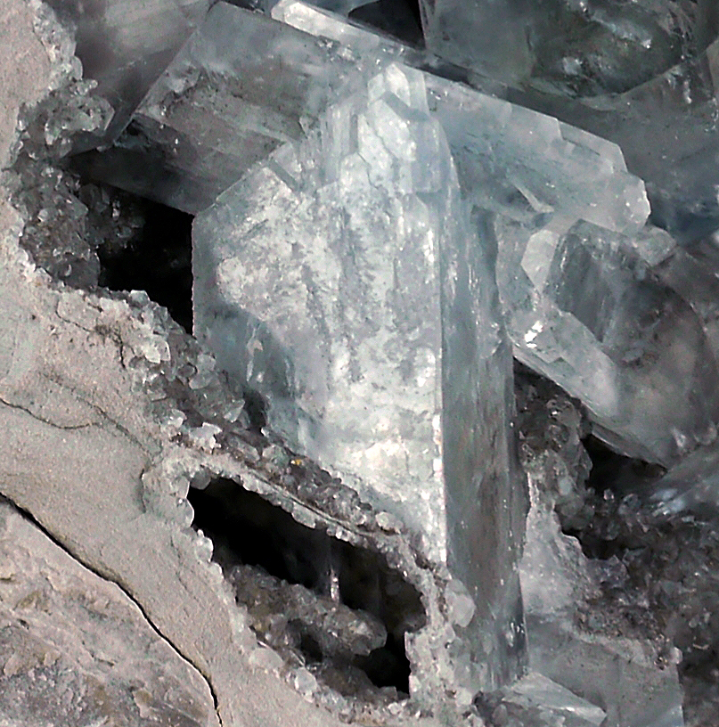 Celestine On Fossil