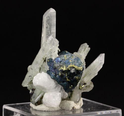 Bornite Psm Chalcopyrite With Quartz