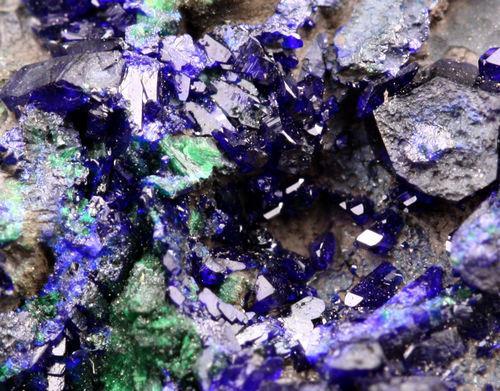 Azurite Dioptase & Malachite