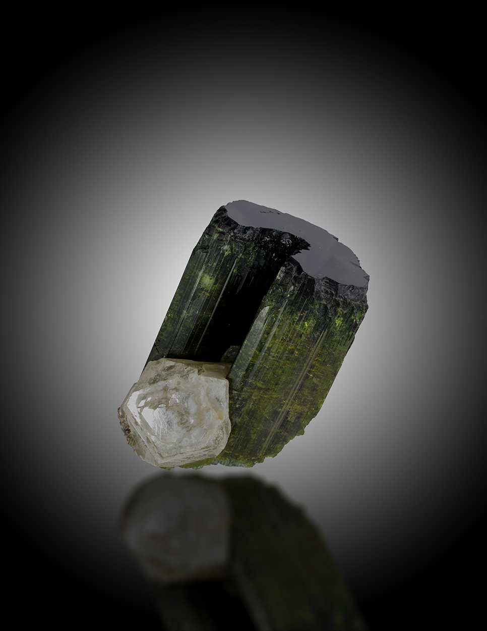 Elbaite With Quartz