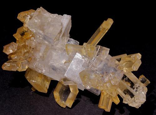 Halite With Gypsum
