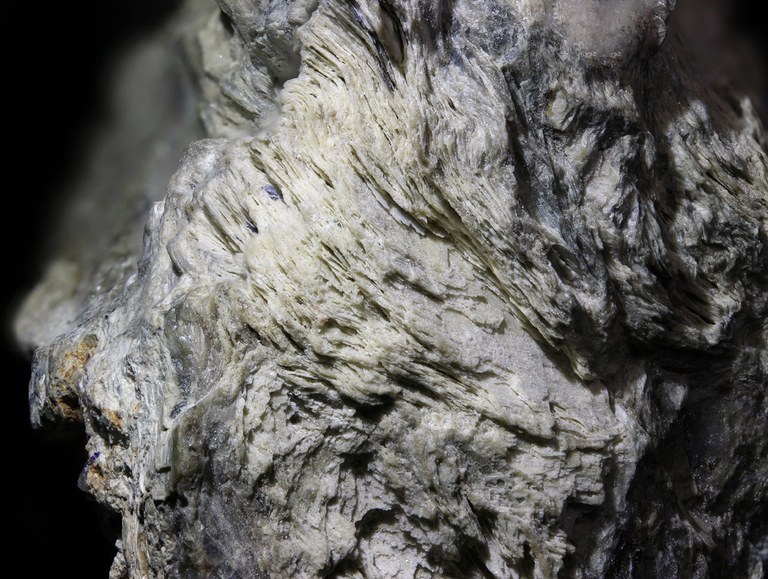 Powellite Psm Molybdenite