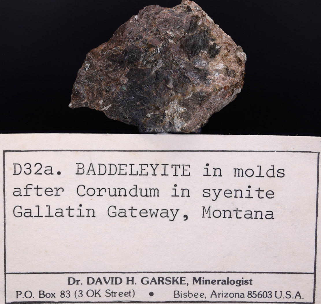 Baddeleyite & Corundum