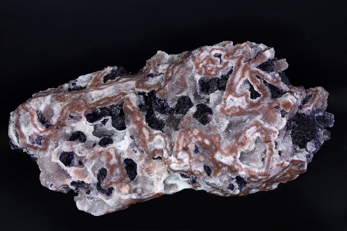 Fluorite & Agate