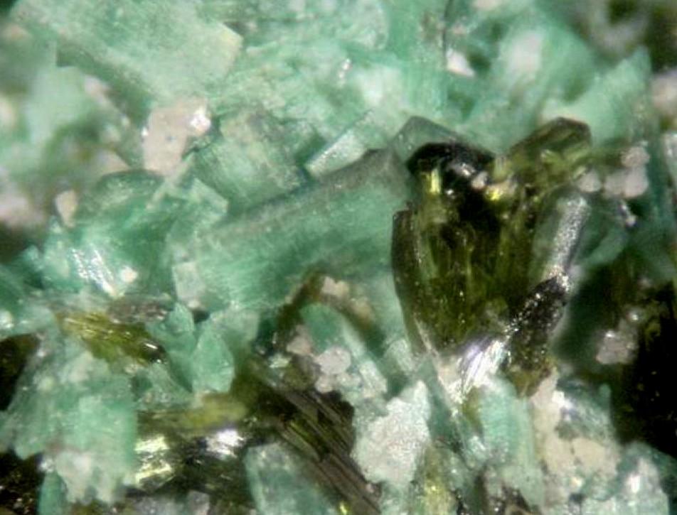 Zeunerite & Olivenite