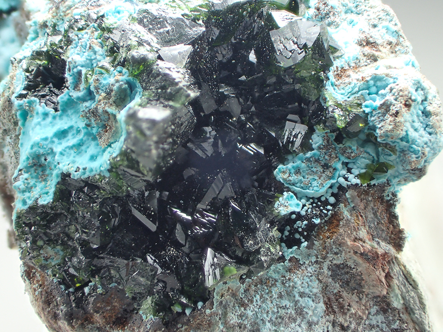 Zapatalite & Libethenite