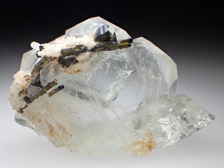 Goshenite & Elbaite