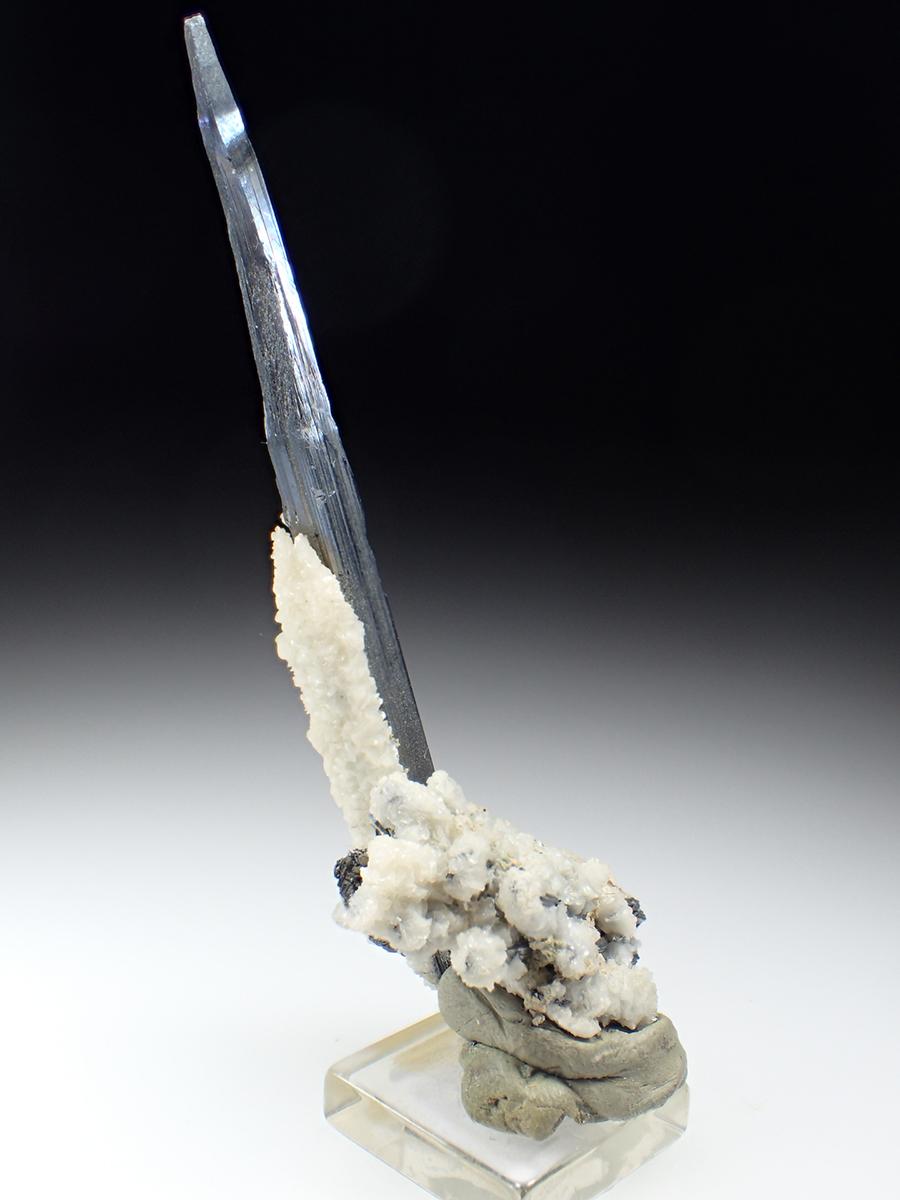Stibnite & Calcite