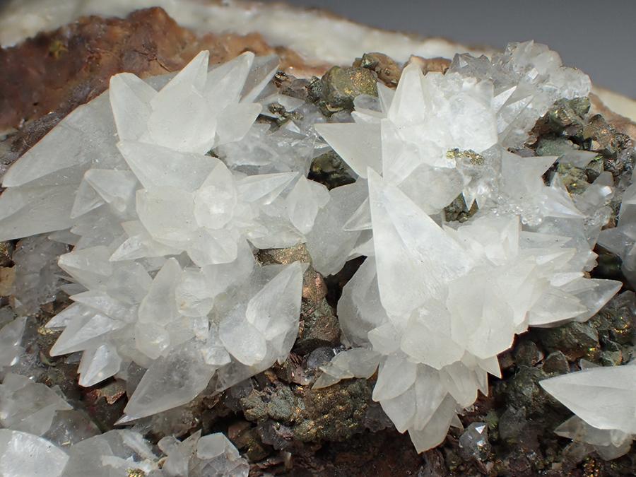 Calcite & Chalcopyrite
