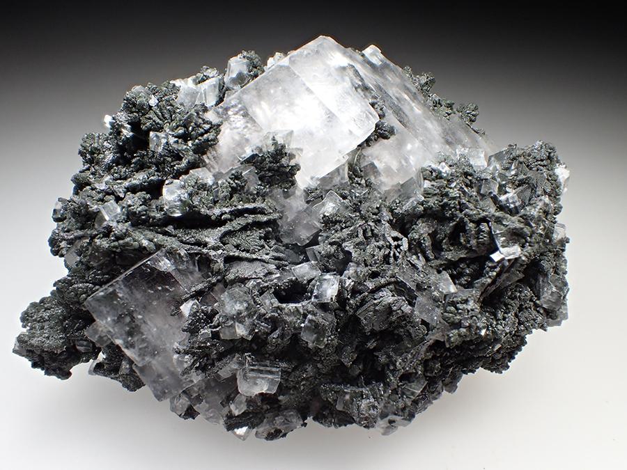 Mottramite & Calcite