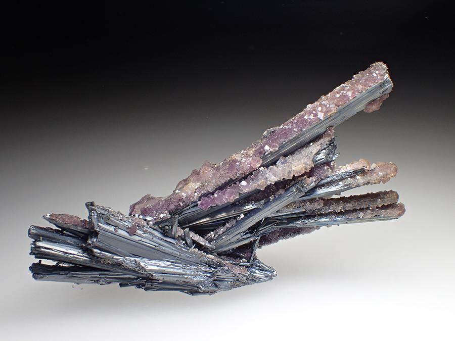 Fluorite & Stibnite
