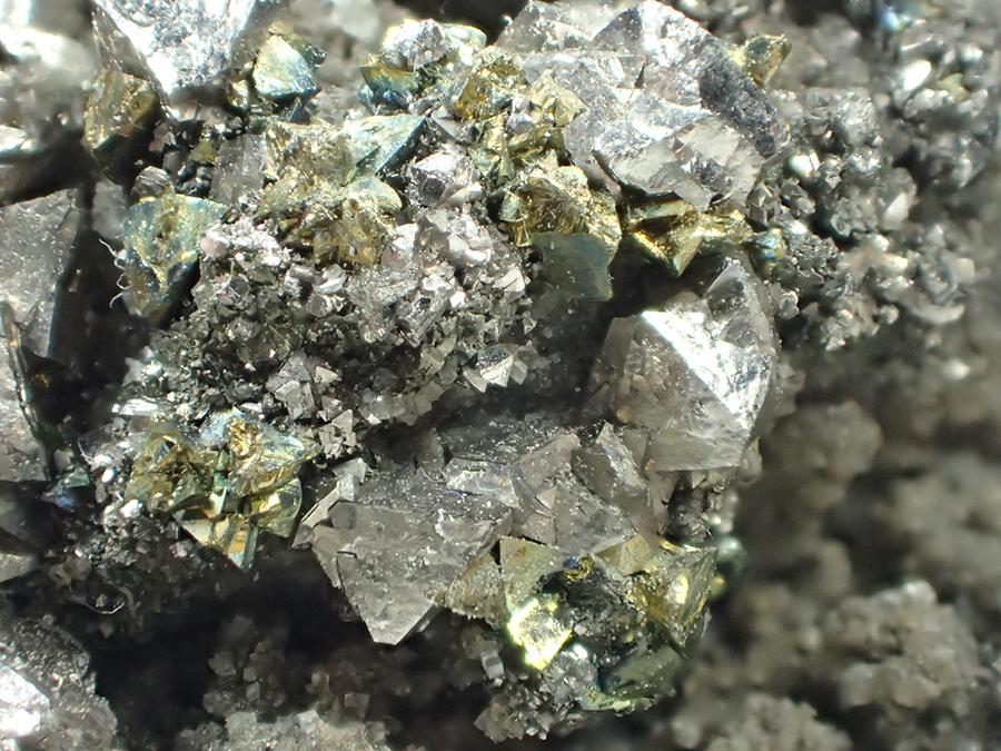 Siegenite & Chalcopyrite