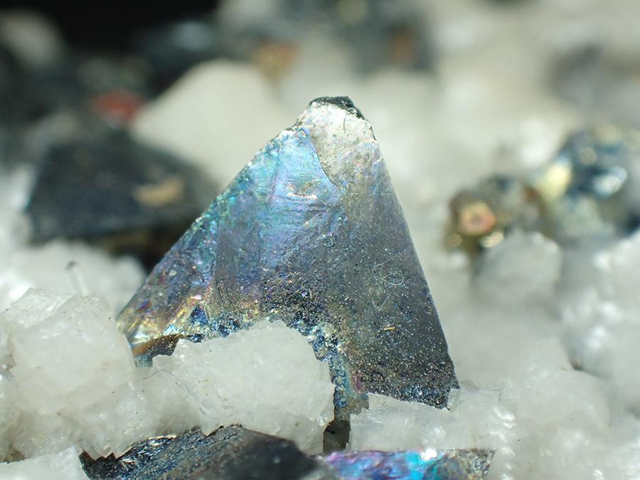 Tetrahedrite & Calcite