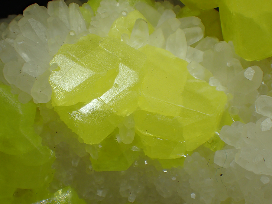 Sulphur & Aragonite