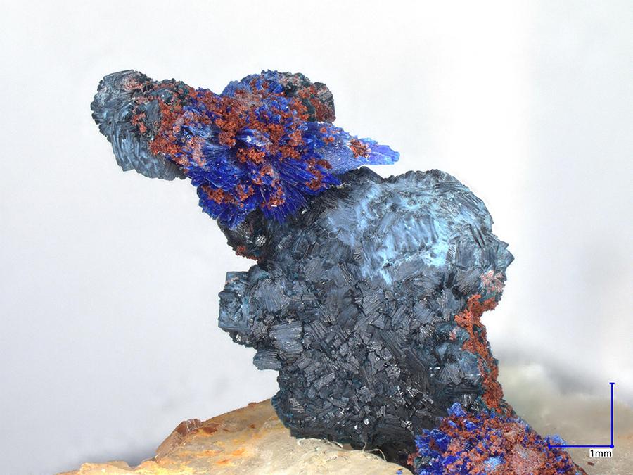 Clinoclase & Azurite