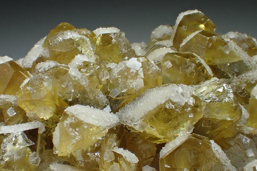 Baryte & Fluorite