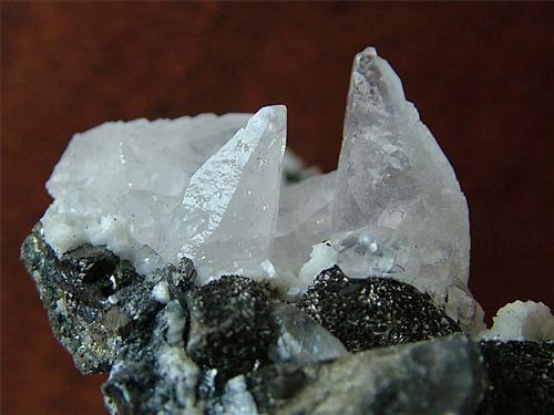 Bournonite & Calcite