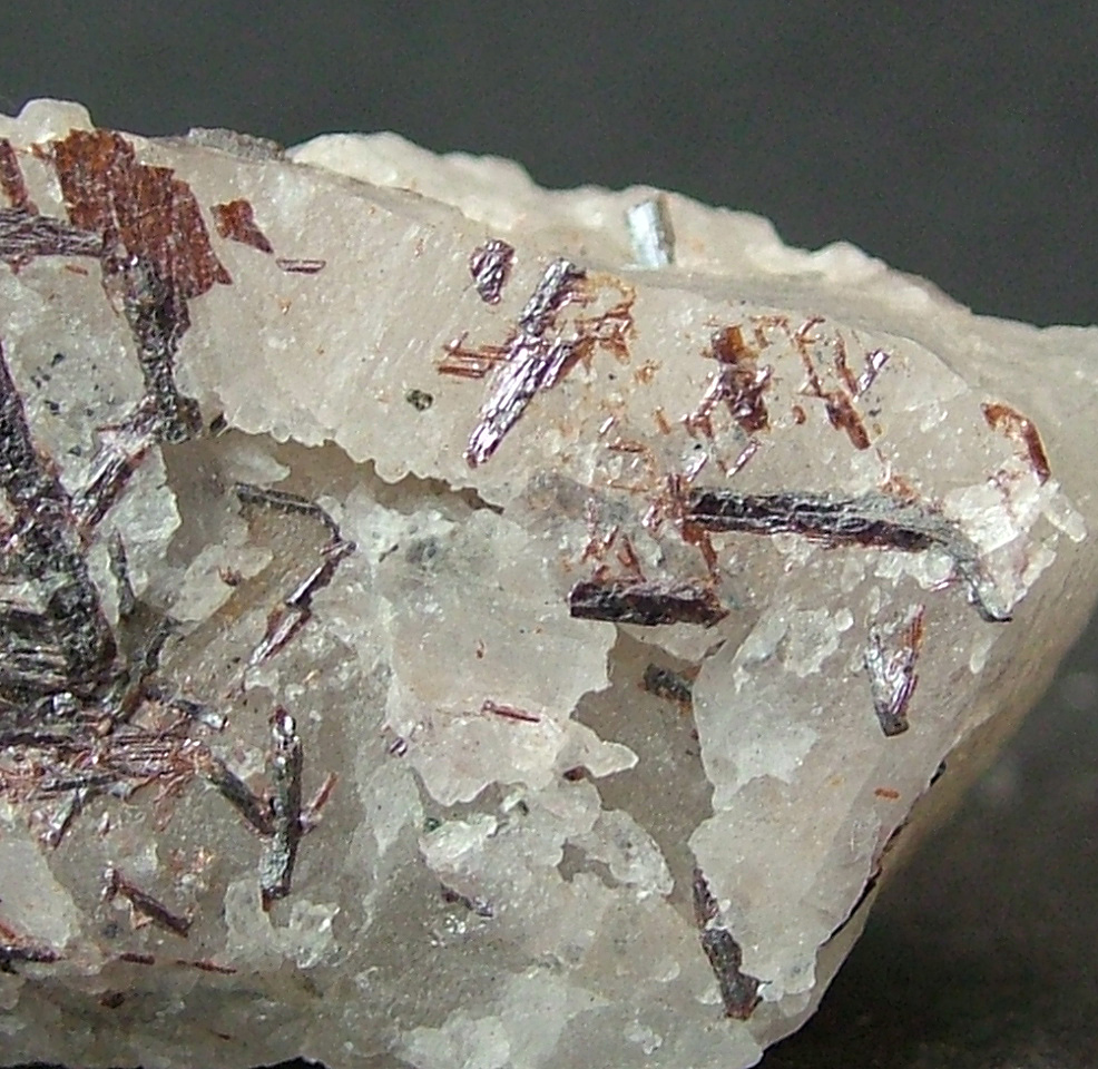 Rutile On & In Quartz