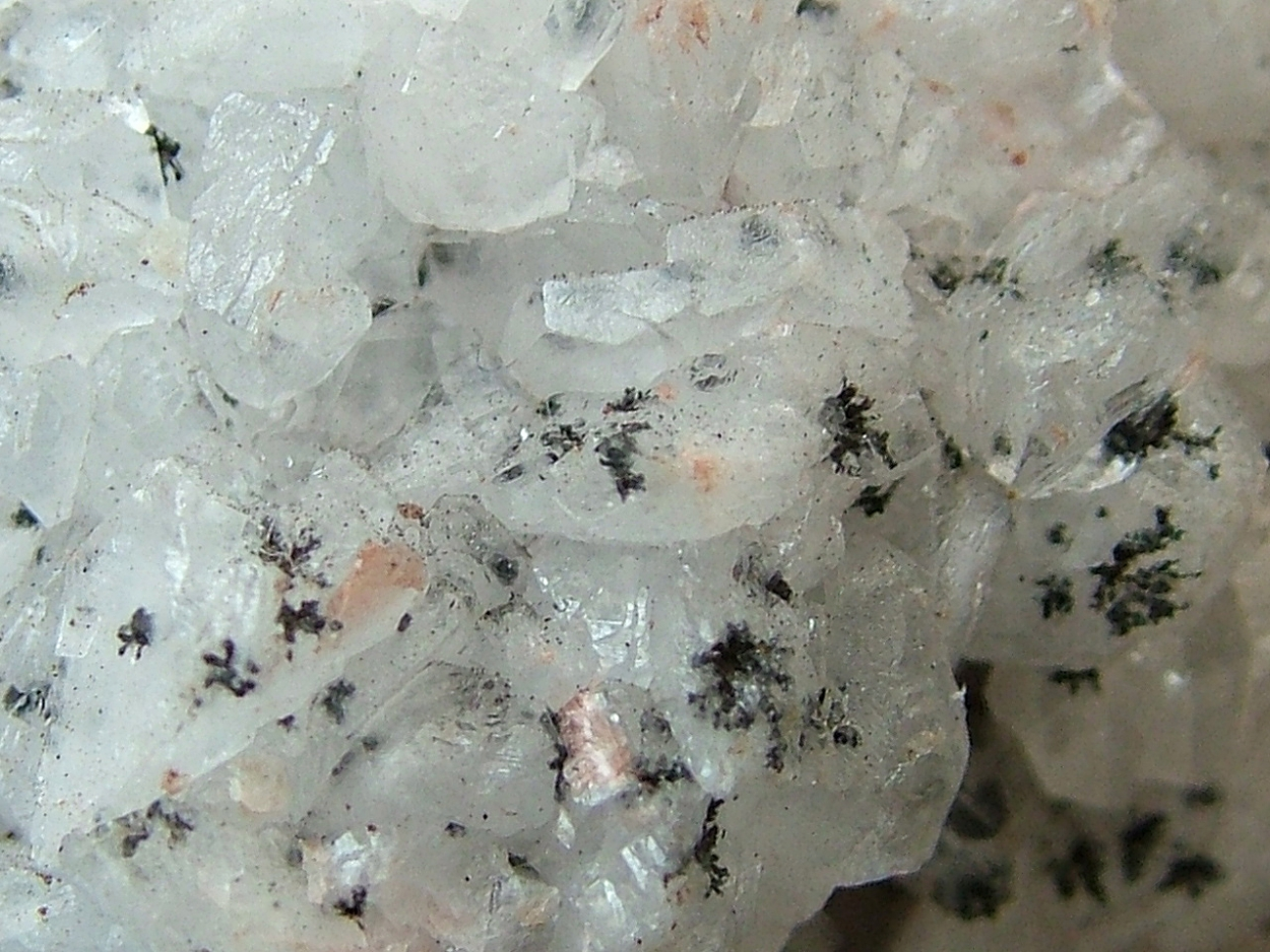 Calcite With Manganite Inclusions