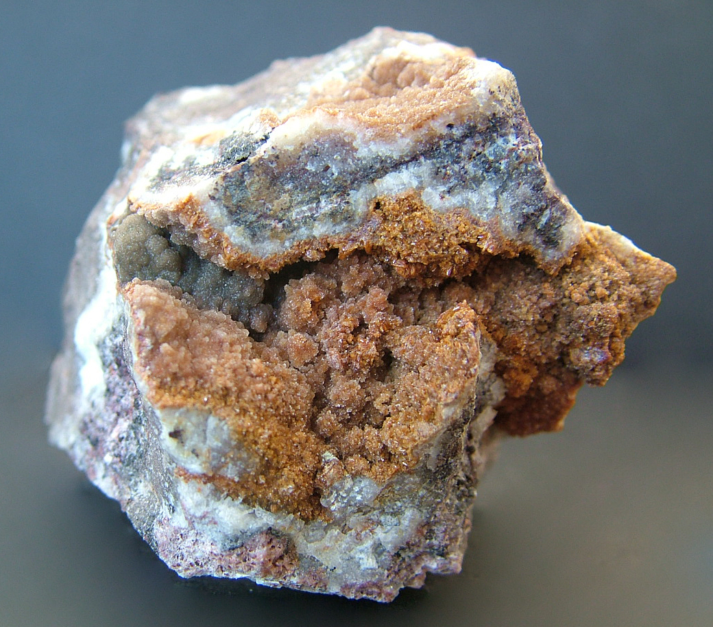 Descloizite With Smithsonite