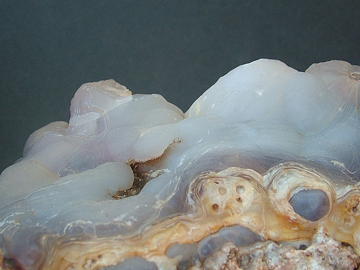 Chalcedony With Fire Agate