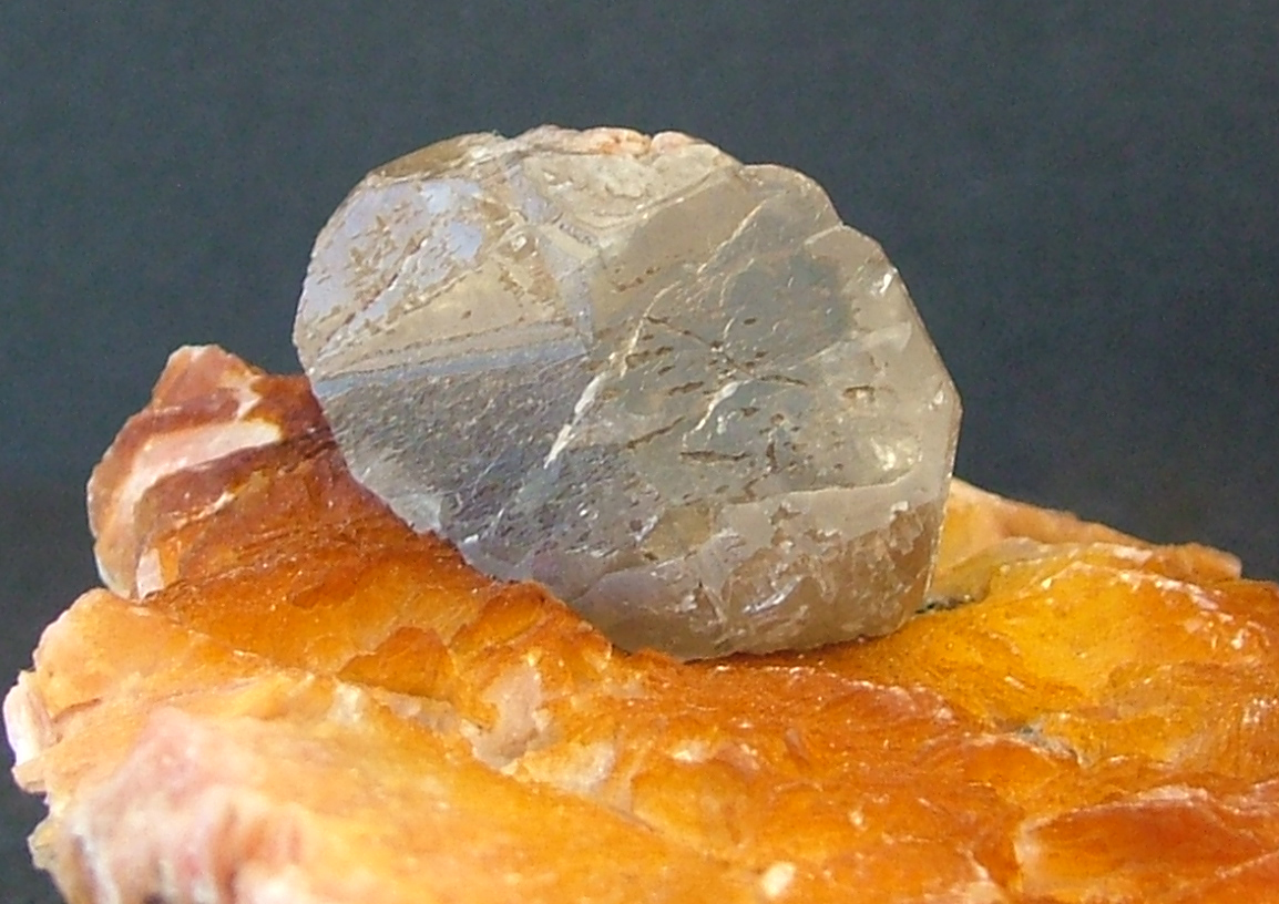 Cerussite On Baryte