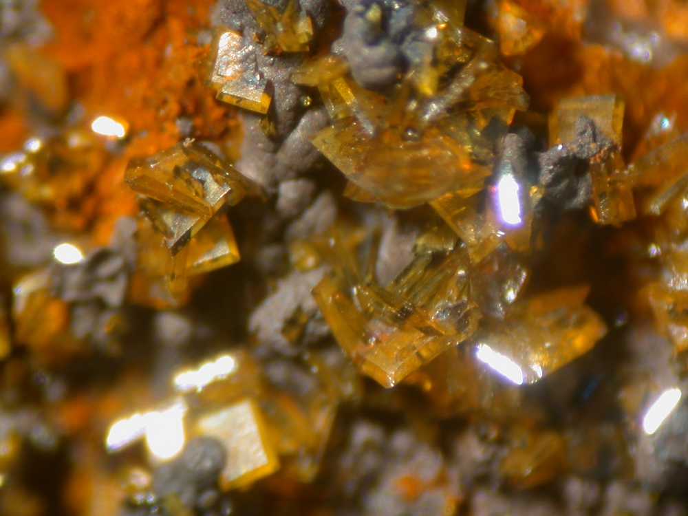 Descloizite & Vanadinite