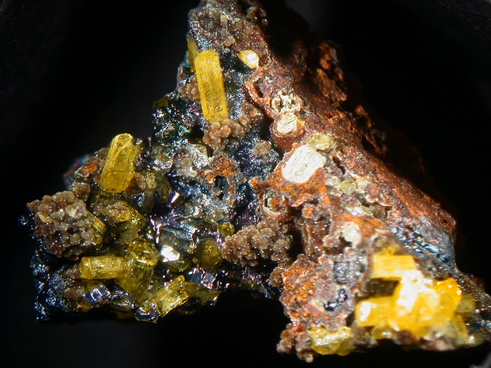 Philipsbornite & Mimetite