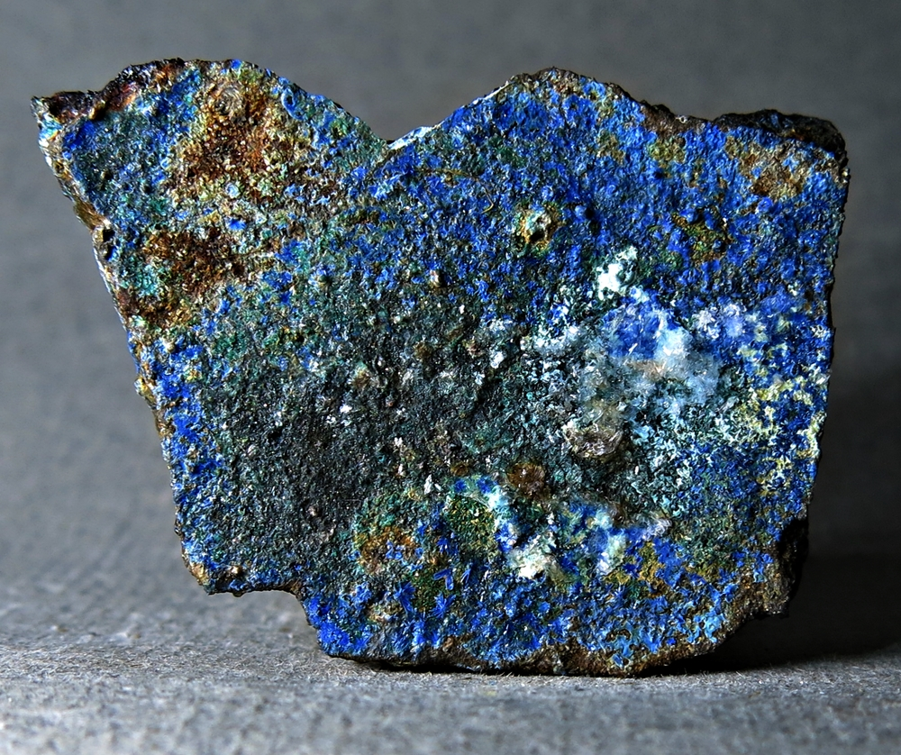 Linarite Brochantite & Gypsum