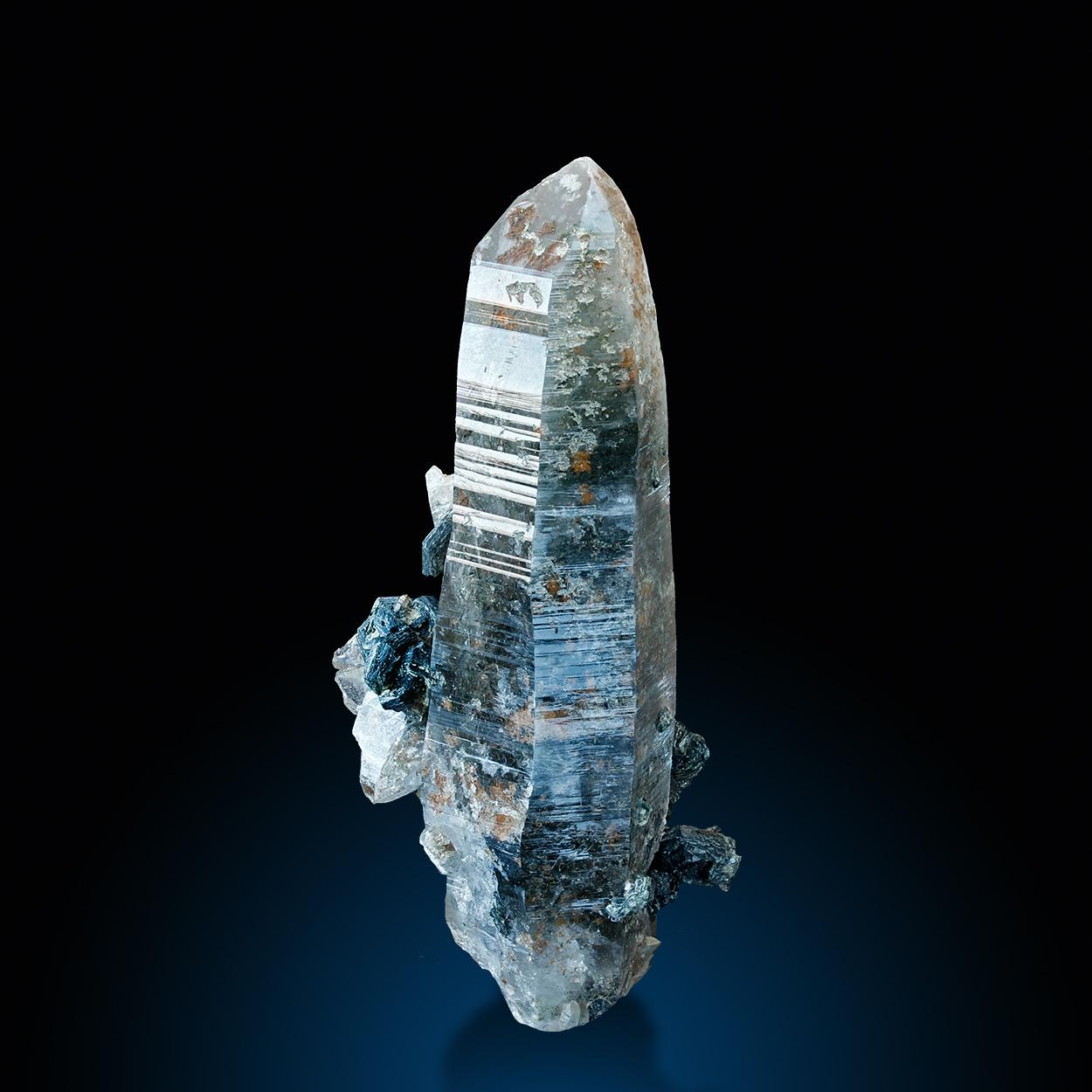 Rock Crystal & Iron Rose