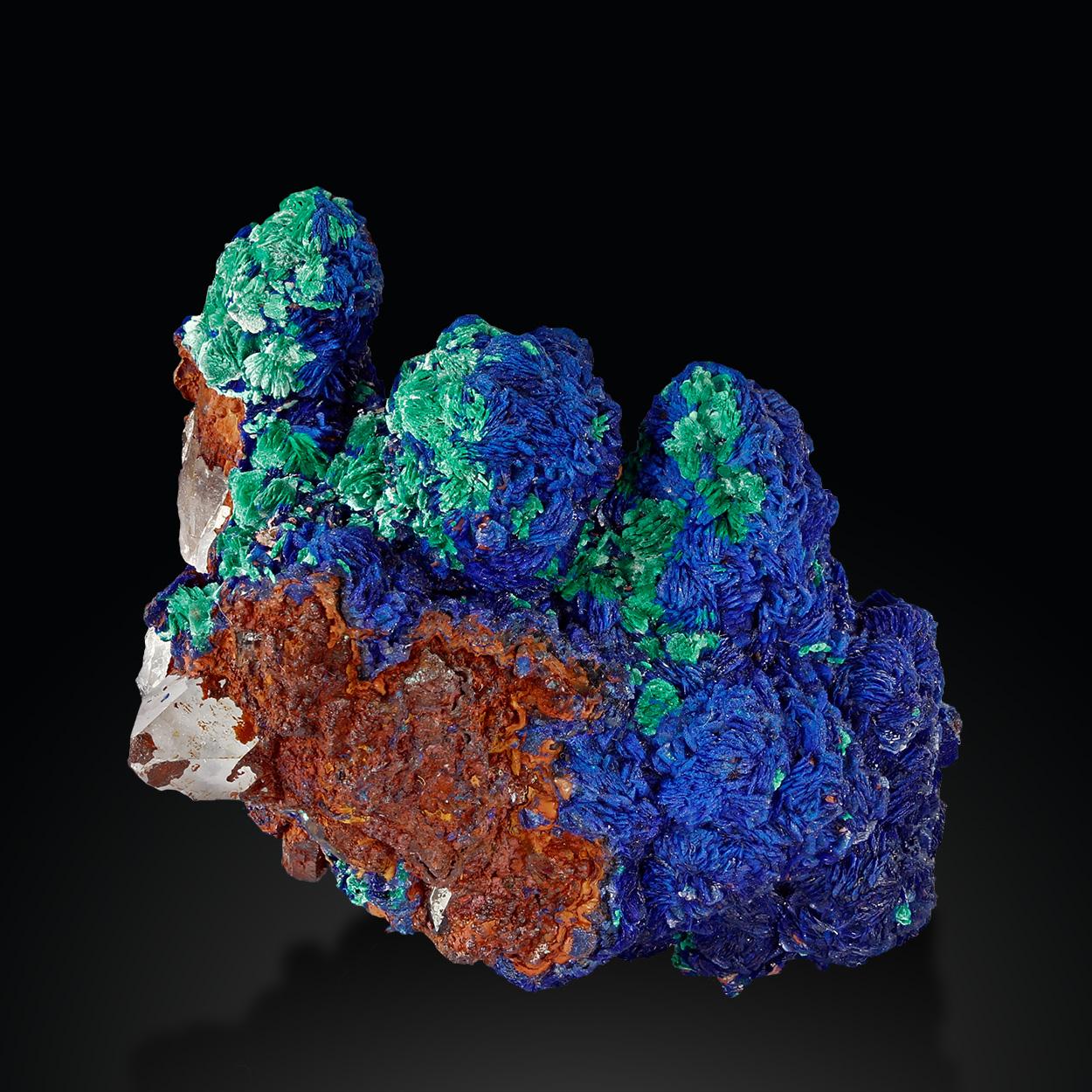 Azurite Malachite & Quartz
