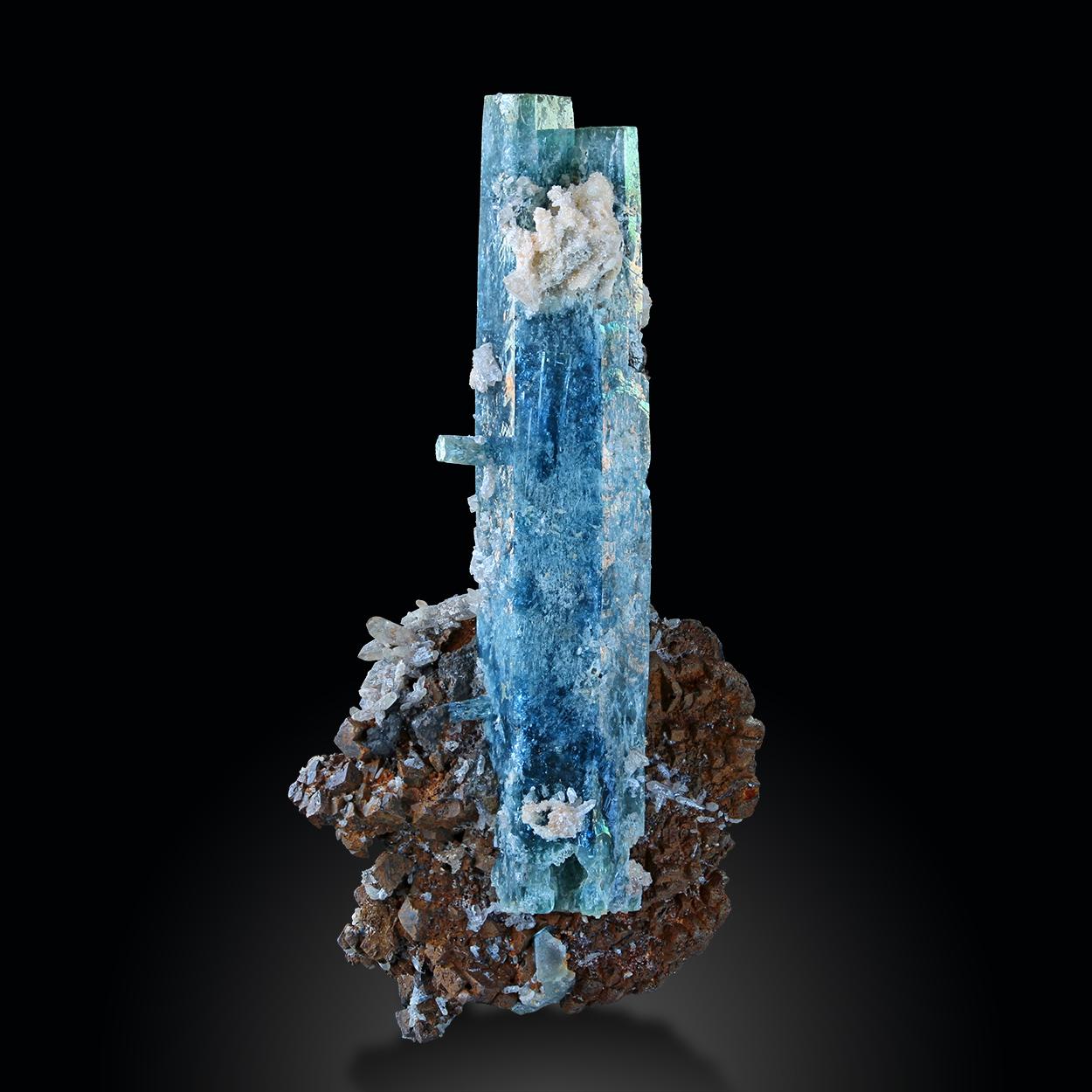 Aquamarine & Siderite