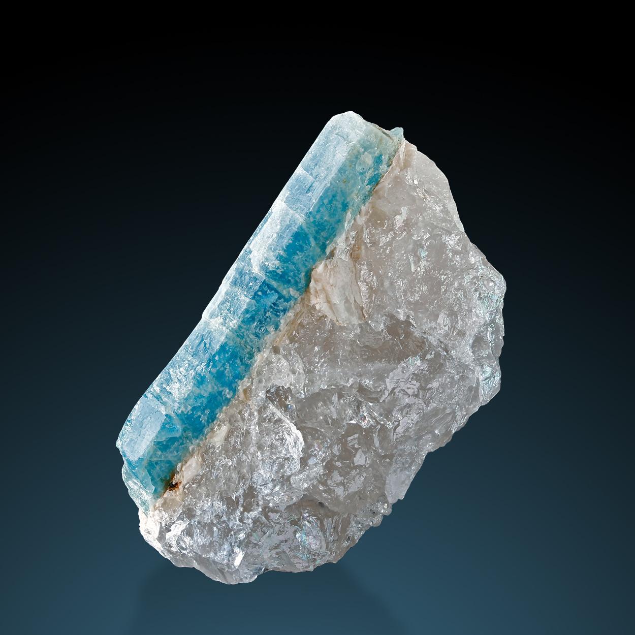 Aquamarine & Quartz