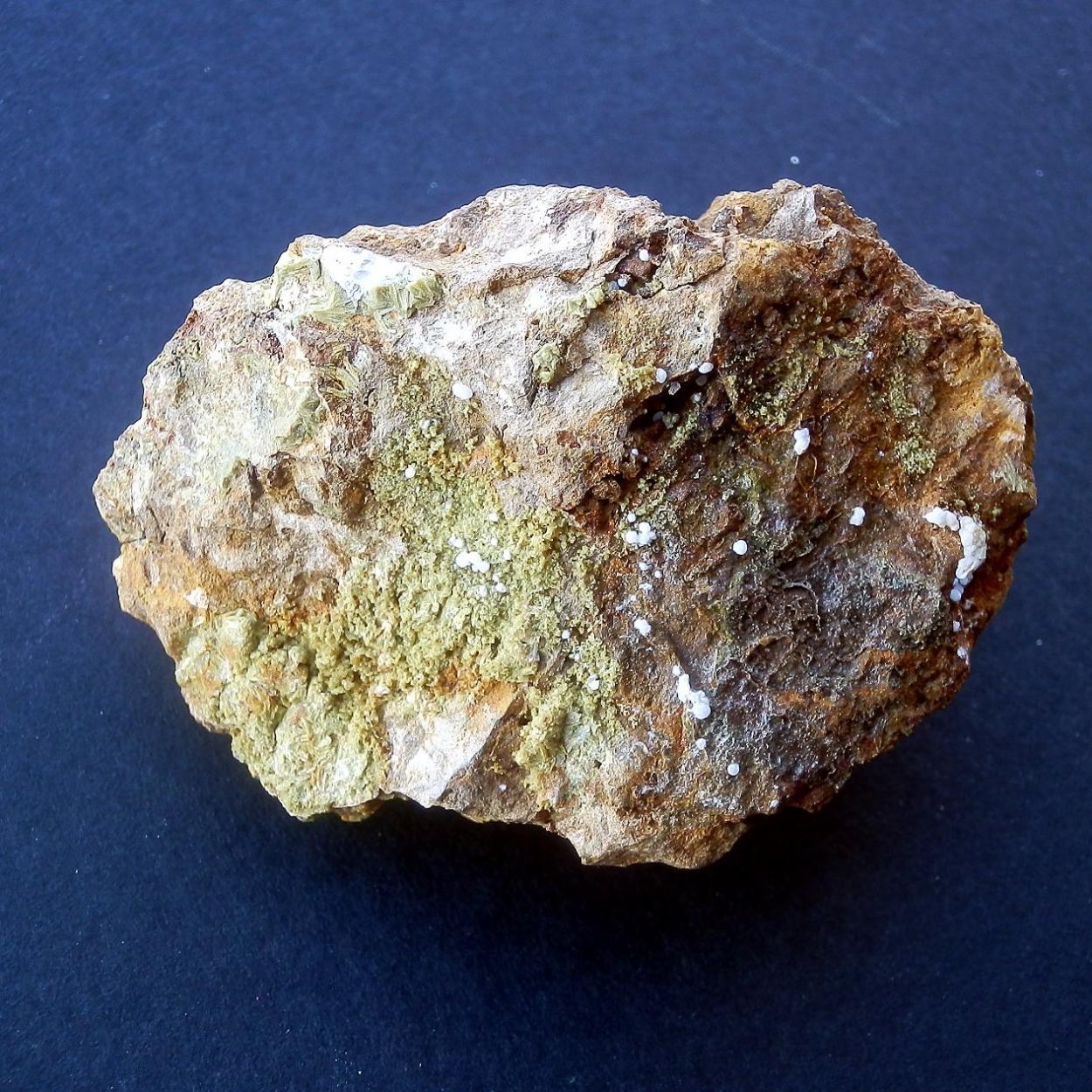 Calcioferrite & Fluorapatite & Hydroxylapatite
