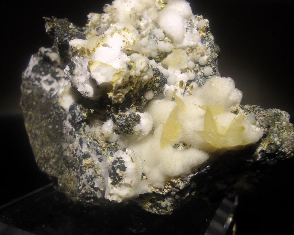 Natrolite With Phillipsite & Aragonite