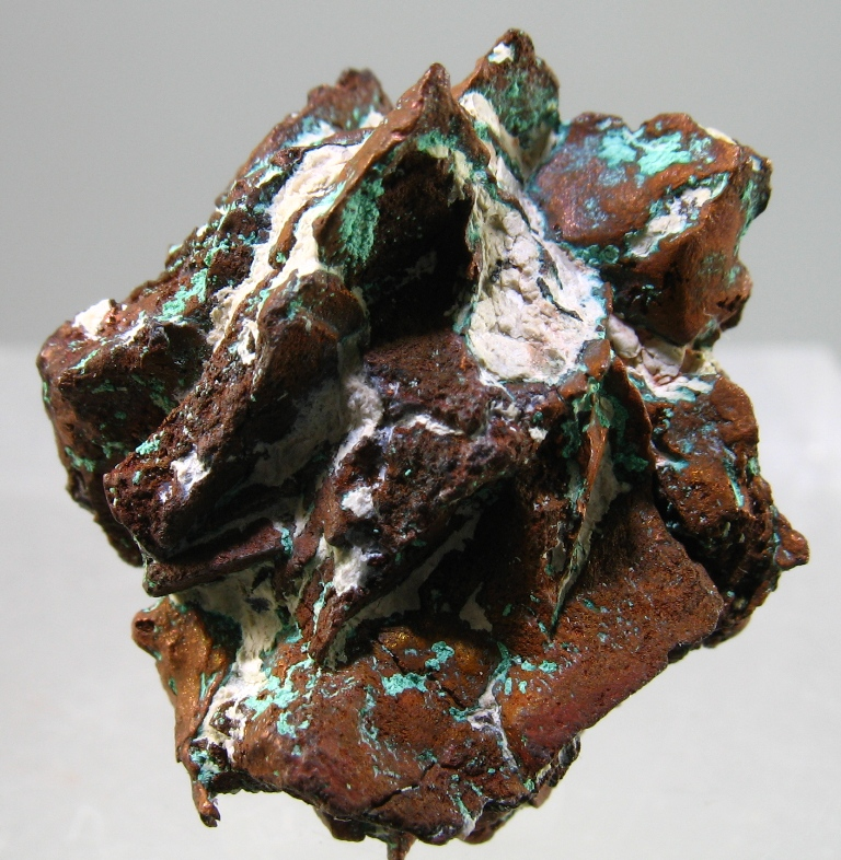 Native Copper Psm Azurite