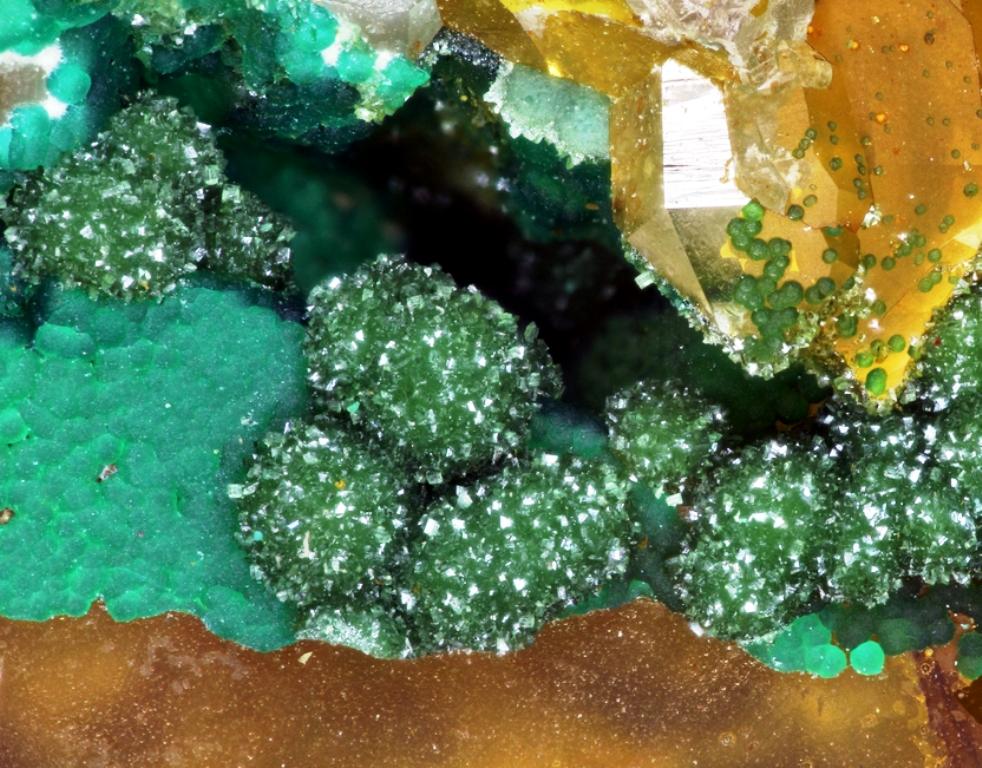 Strashimirite Cornwallite & Olivenite