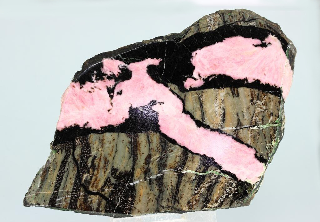 Rhodonite & Parsettensite