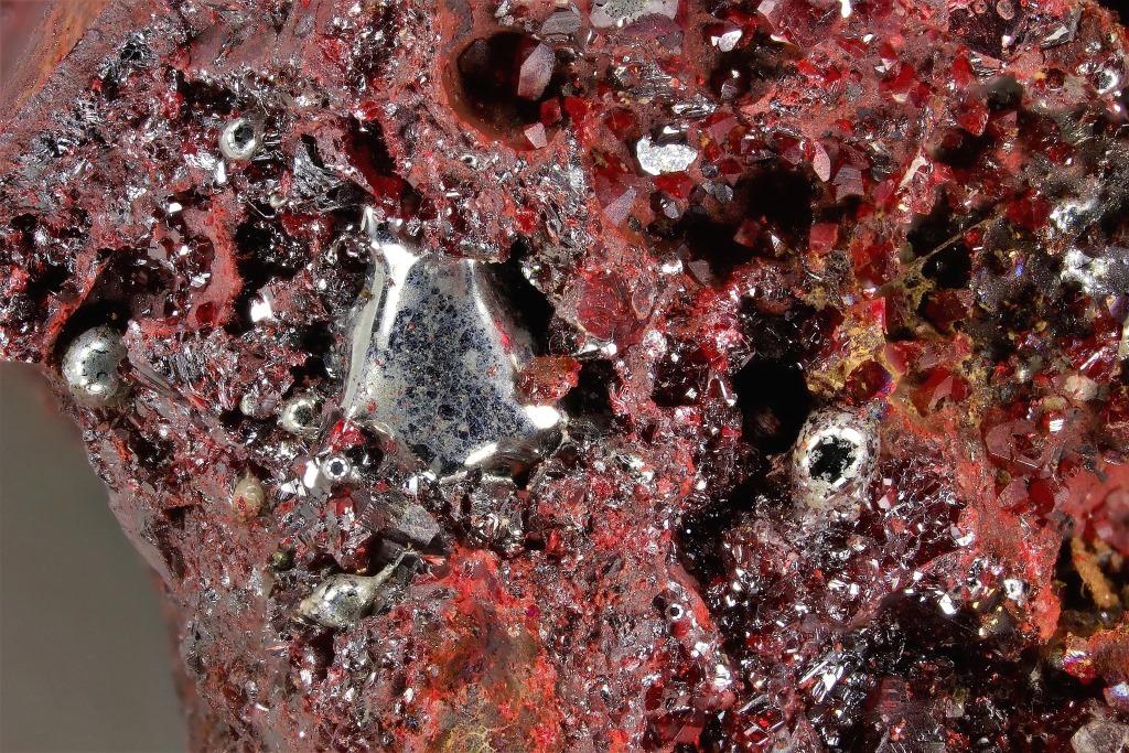 Native Mercury Cinnabar & Metacinnabar