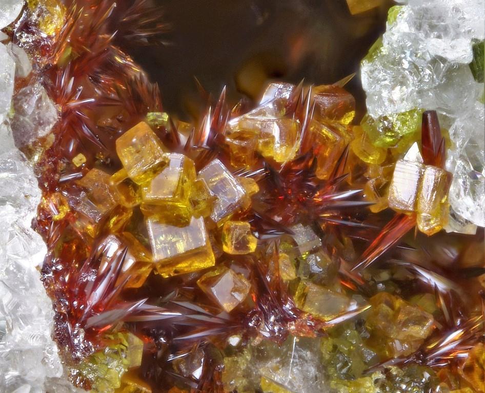 Carminite Bariopharmacosiderite Ferrihydrite & Segnitite