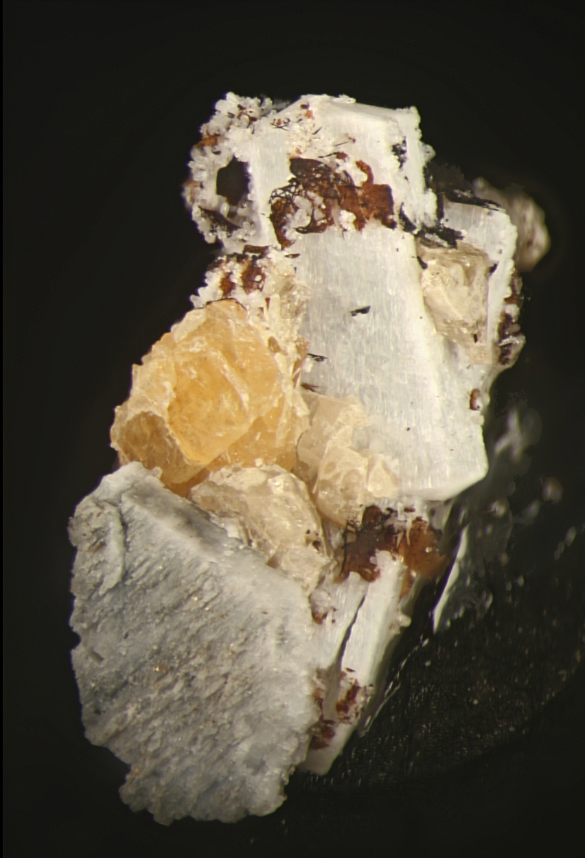 Wöhlerite Natrolite & Zircon