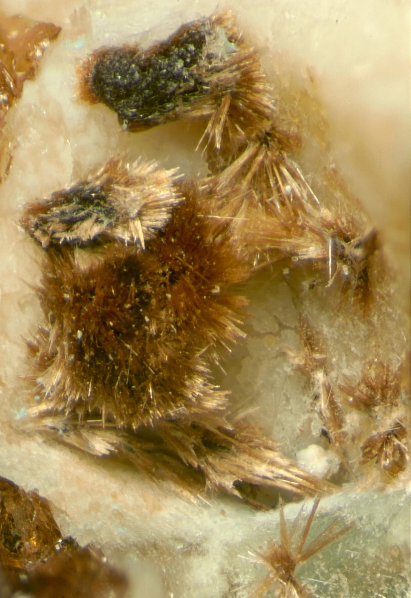 Raite With Rhabdophane-(Ce) On Gmelinite-Na