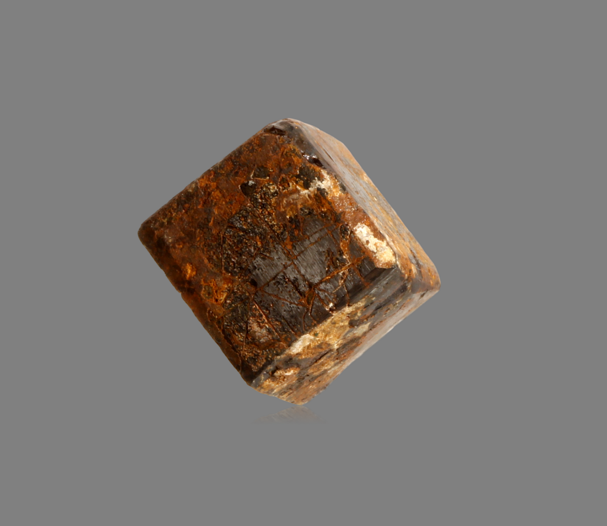 Gold On Limonite Psm Pyrite