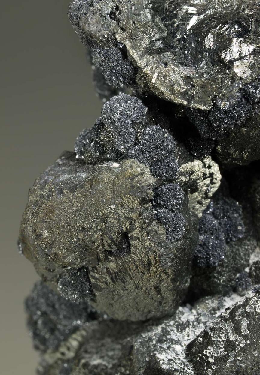 Sphalerite Psm Wurtzite & Plumbogummite With Franckeite