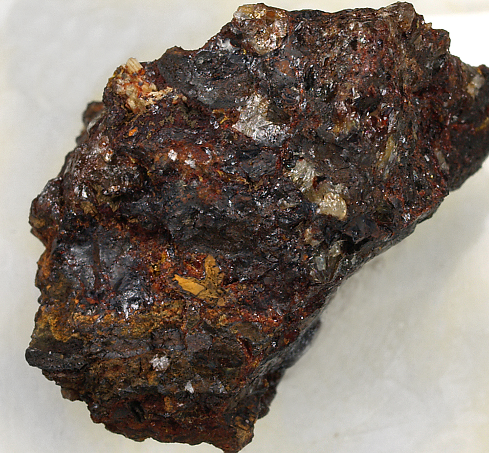 Allanpringite & Cacoxenite